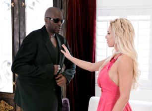 Nadia North Takes On The Biggest Black Cocks In Porn Scene