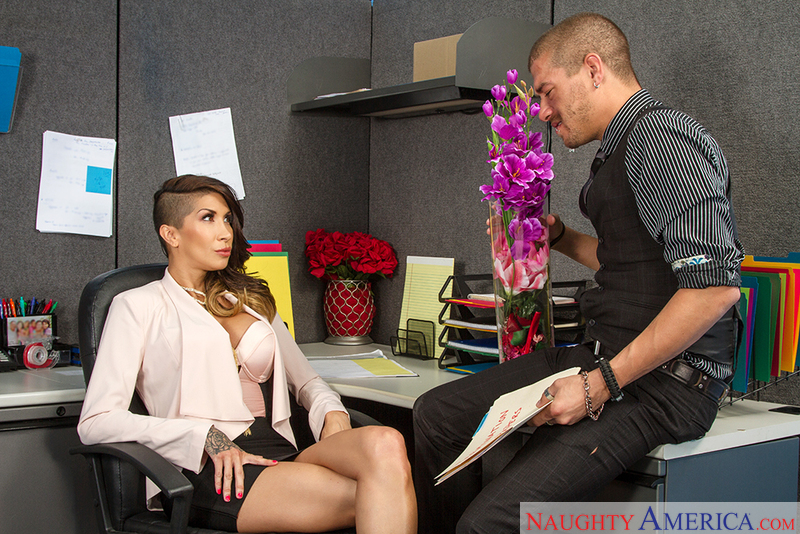 Naughty Office - Kayla Carrera &