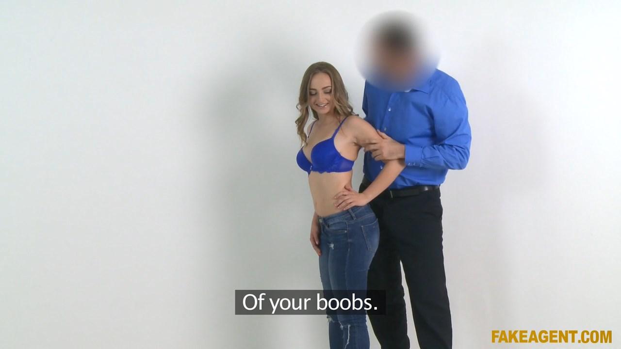 Wannabe Model Fucked on Set