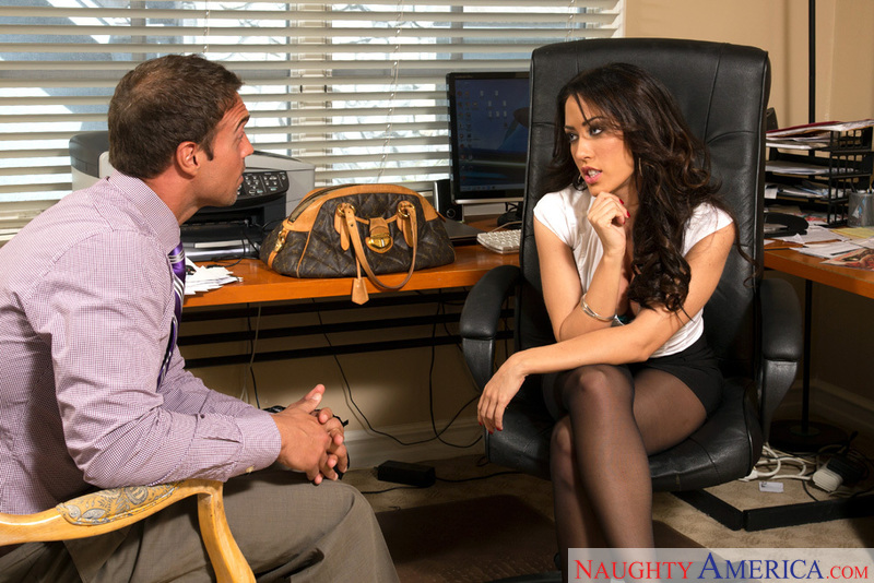Naughty Office - Capri Cavanni &