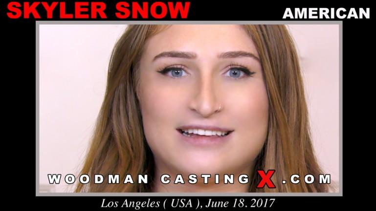 Skyler Snow casting