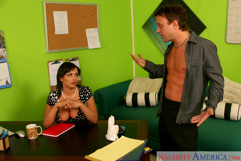 Naughty Office - Alexis Silver &