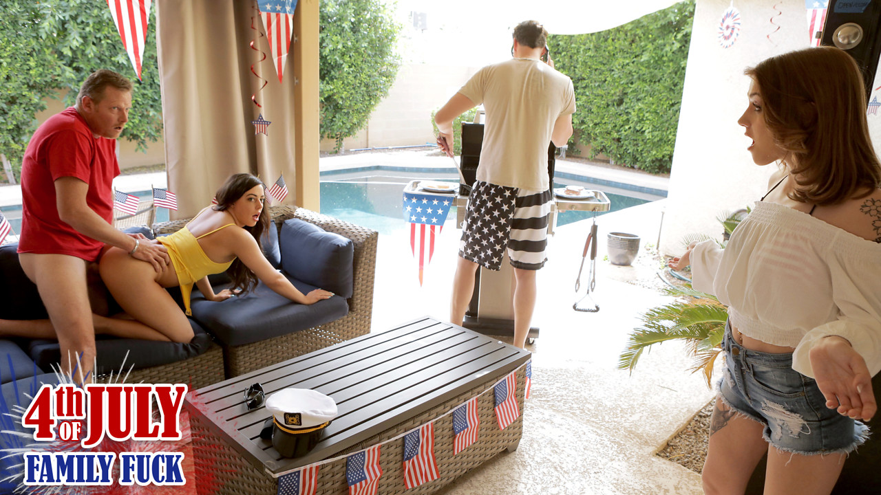 Fourth Of July Family Fuck - S3: