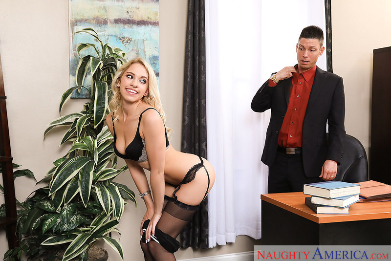 Naughty Office - Khloe Kapri & T