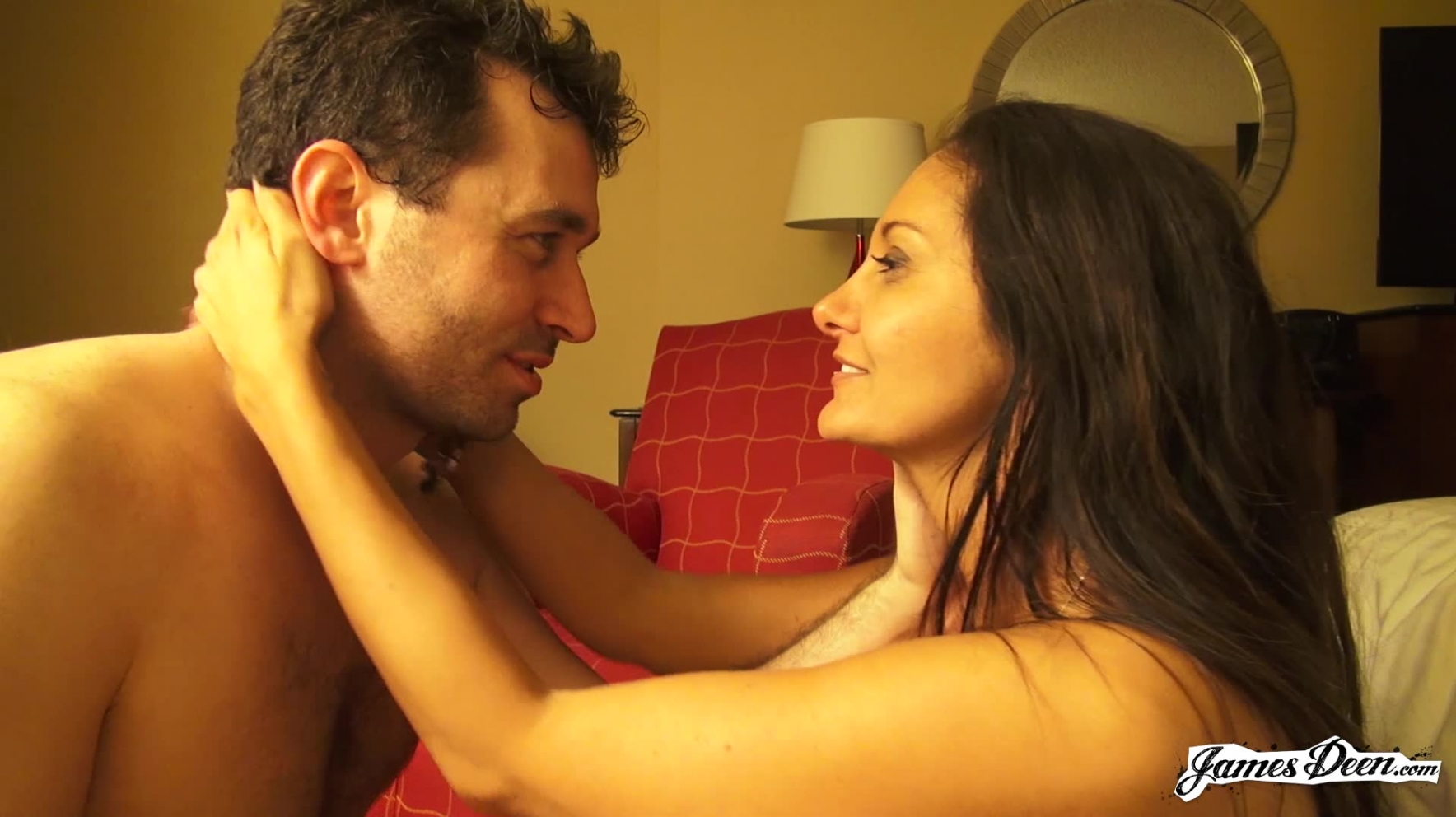Ava Addams And James Deen Are In