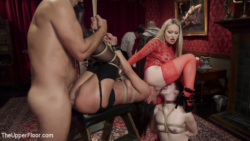 Anal Slaves Serve Kinky Costume
