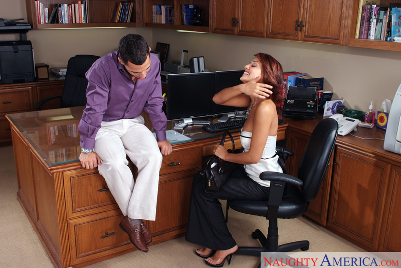 Naughty Office - Lyla Storm & Mi