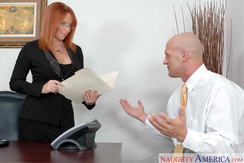 Naughty Office - Kylie Ireland &