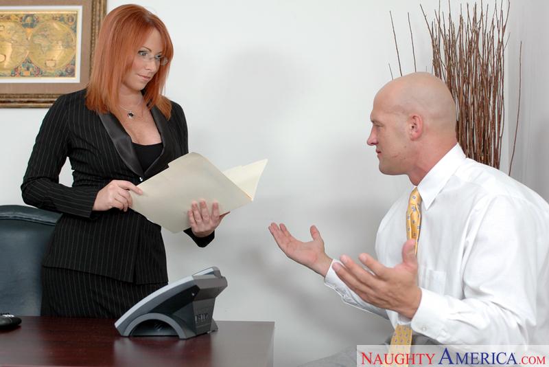 Naughty Office - Kylie Ireland &