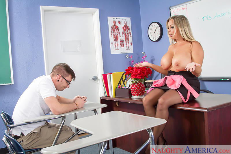 My First Sex Teacher - Amber Lyn