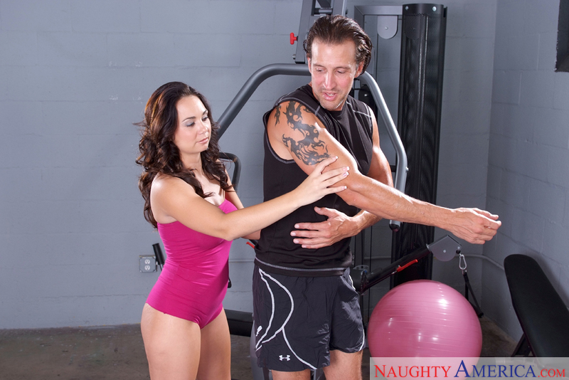 Naughty Athletics - Holly West &
