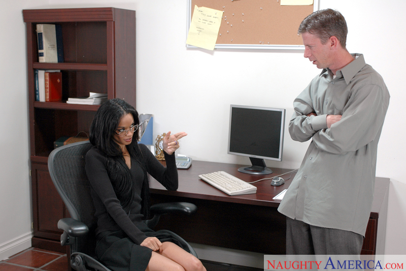 Naughty Office - Tyra Banxxx & R