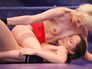 NudeFightClub presents Ashley vs