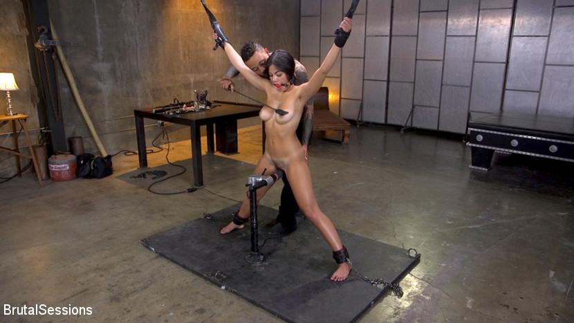 New Slut Kendra Spade Bound in R