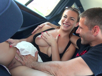 Horny Hitchhikers Put on a Show