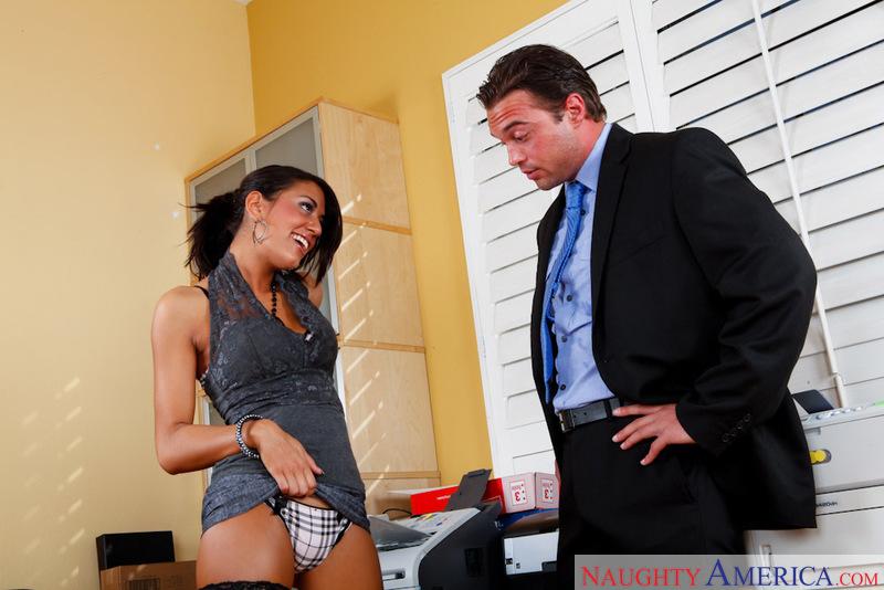 Naughty Office - Lyla Storm & Ro