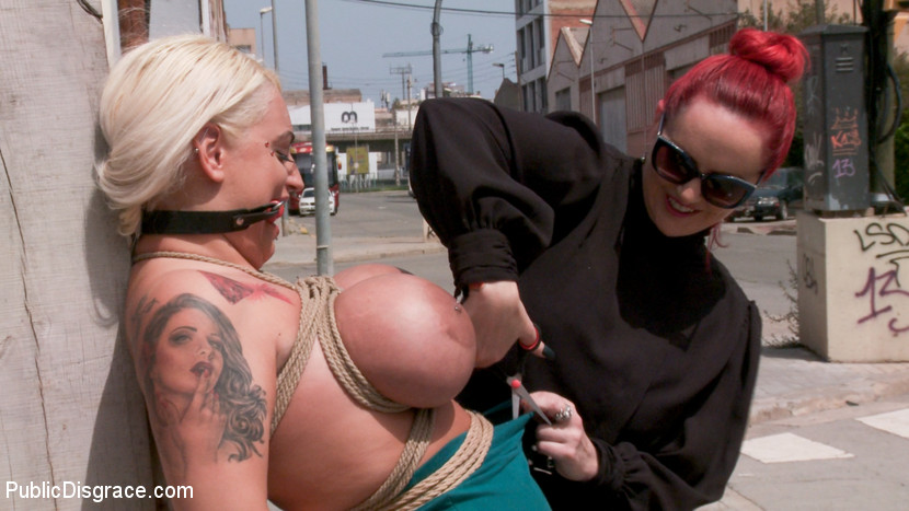 Busty Blonde Candela X Submits I