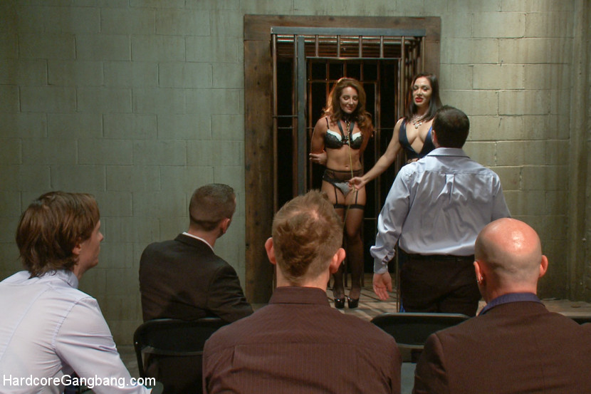 Sex Submissive Auctioned off to