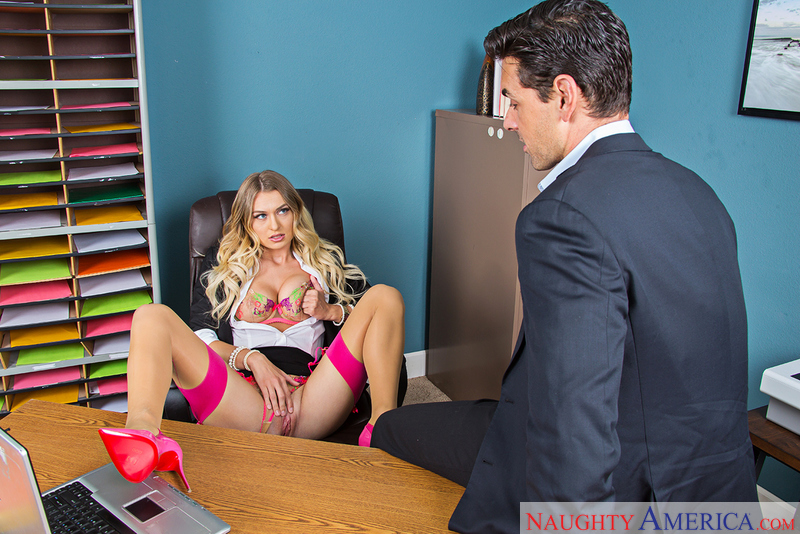 Naughty Office - Natalia Starr &
