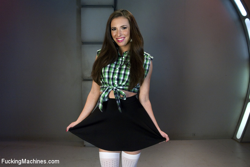 Casey Calvert is back with her f