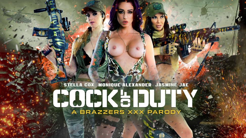 Cock Of Duty: A XXX Parody Scène 1