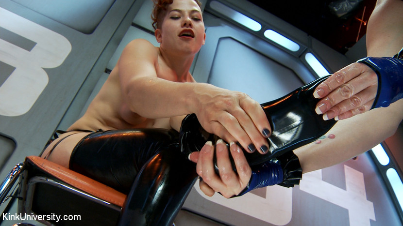 Latex Fetish: Wearing, Care and