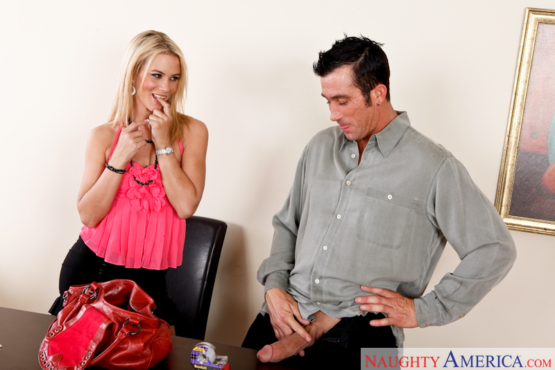 Naughty Office - Sophia Lynn & B