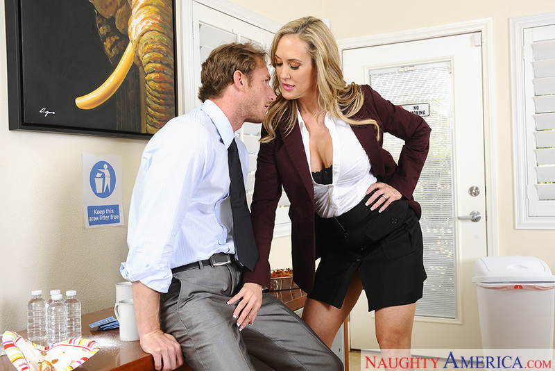 Naughty Office - Brandi Love & R