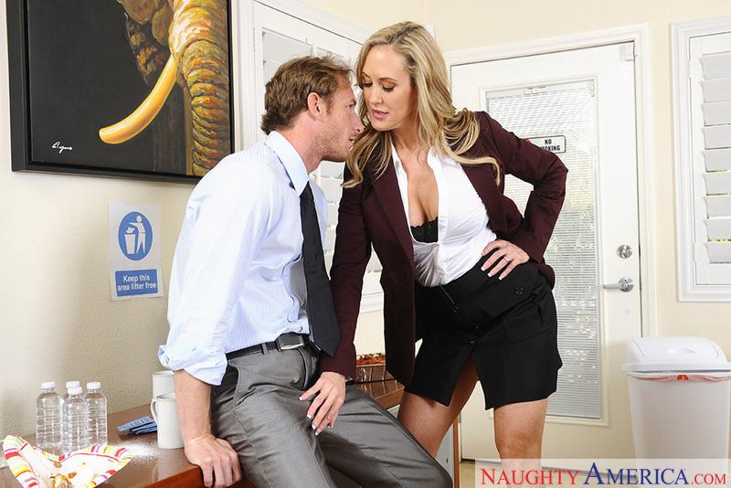 Naughty Office - Brandi Love & R