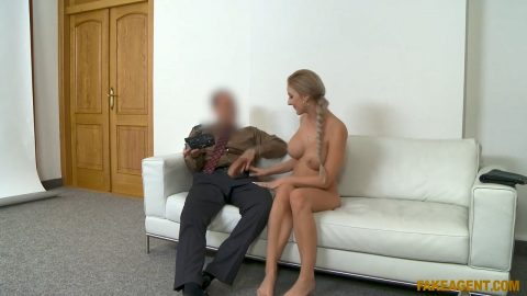 Perfect Tits Blonde Gets Creampi
