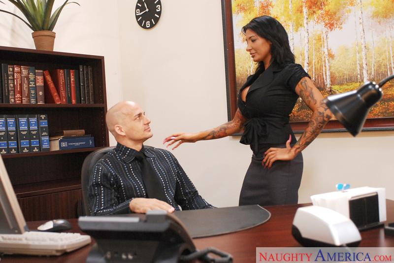 Naughty Office - Ricki Raxxx & B