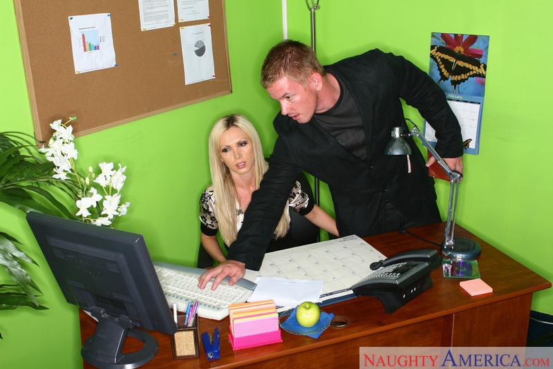 Naughty Office - Nikki Benz & Ja