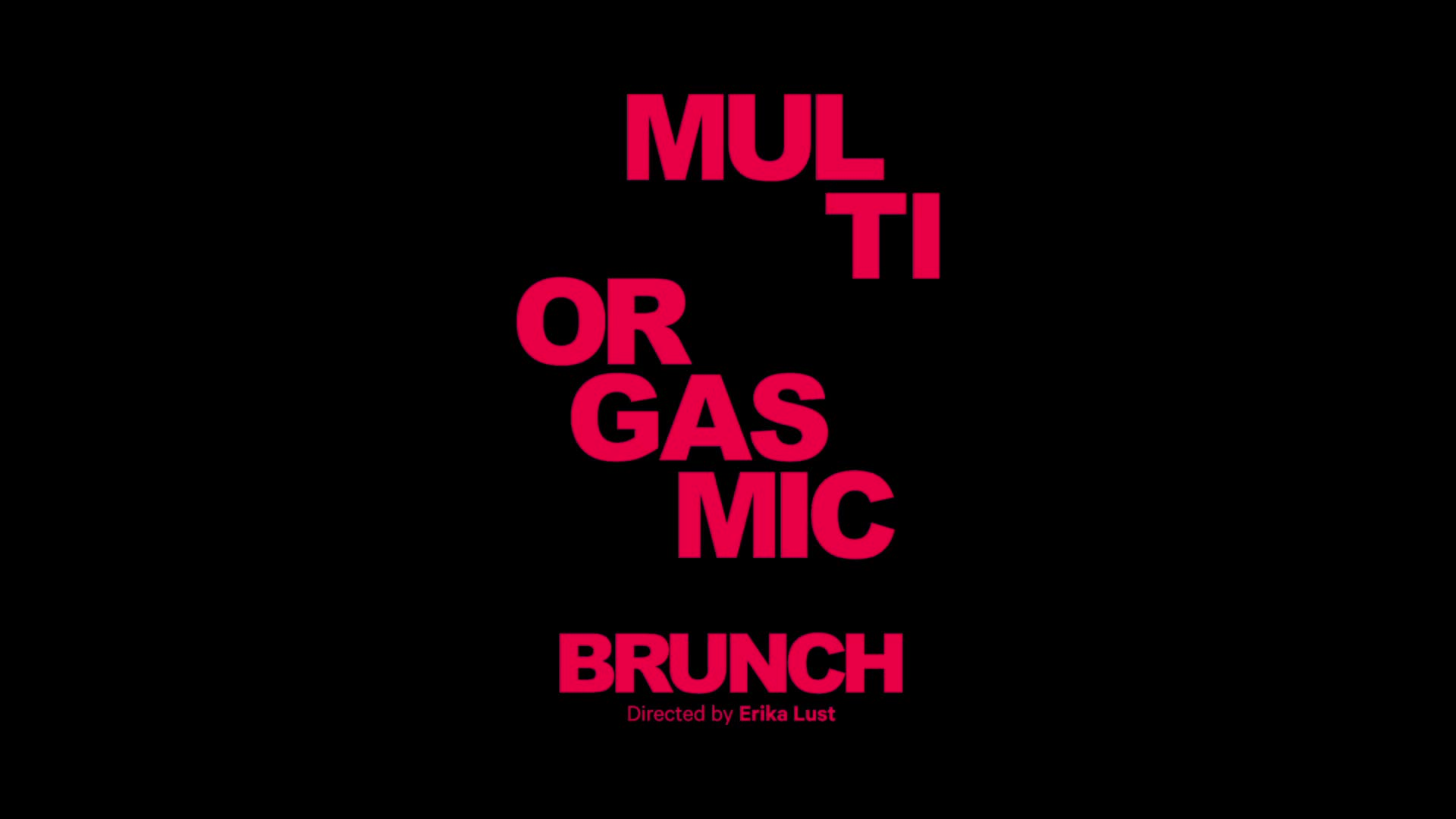 Multiorgasmic Brunch Scène 1
