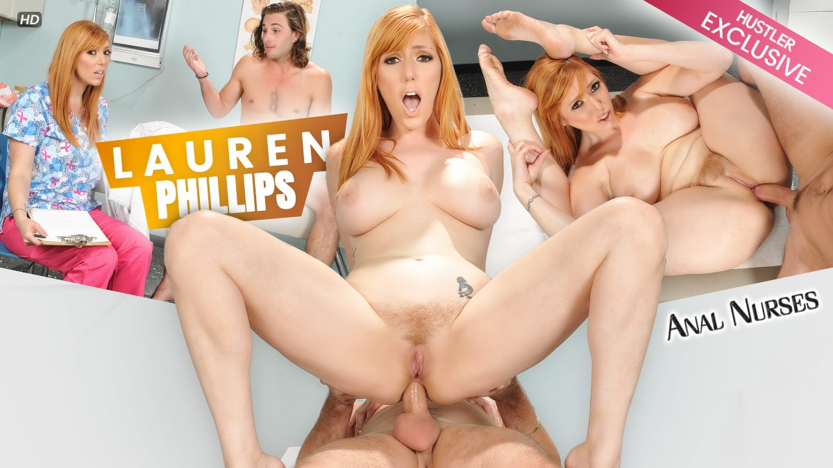 Anal Nurses - Lauren Phillips Scène 1