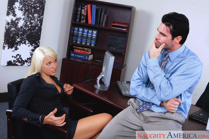 Naughty Office - Veronika Raquel