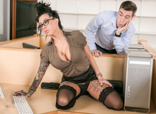 Big Tit Office Chicks #02