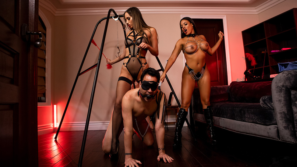 The Dommes Next Door: Double Dom