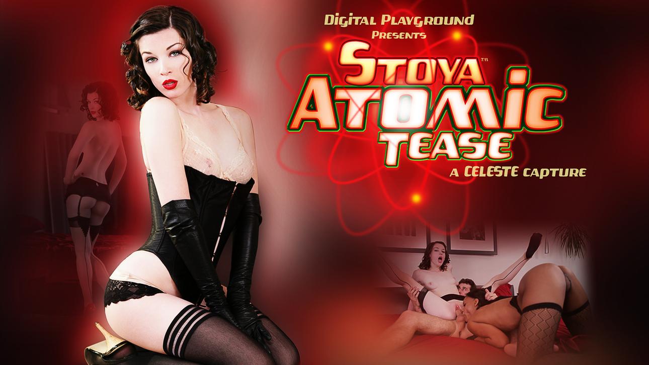 Stoya Atomic Tease Scène 1