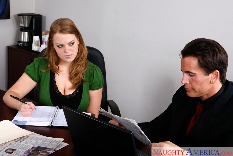 Naughty Office - Sierra Skye & T