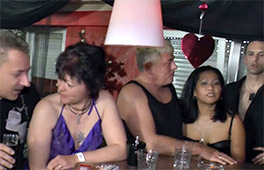 Hot Orgy At The Swingers Club