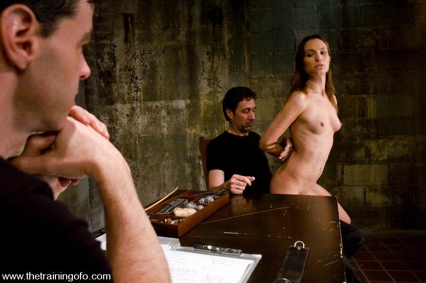The Training of Amber Rayne, Day