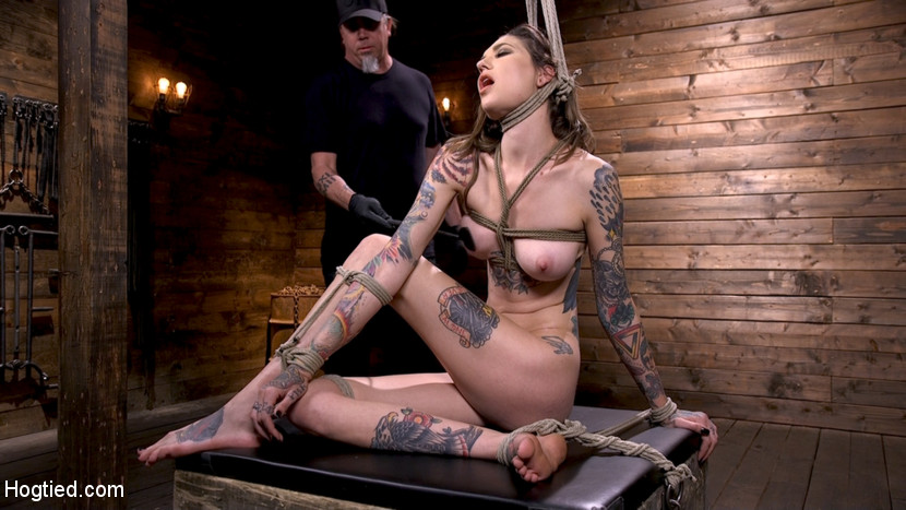 Tall Tattooed Slut in Grueling B