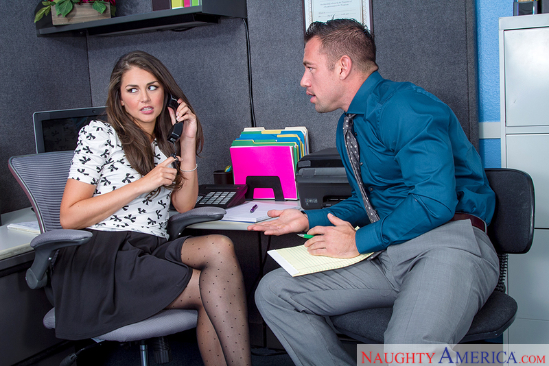 Naughty Office - Allie Haze & Jo