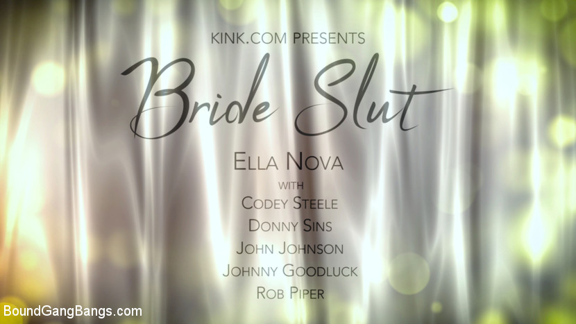 Bride Slut: Ella Nova Takes 5 Ha
