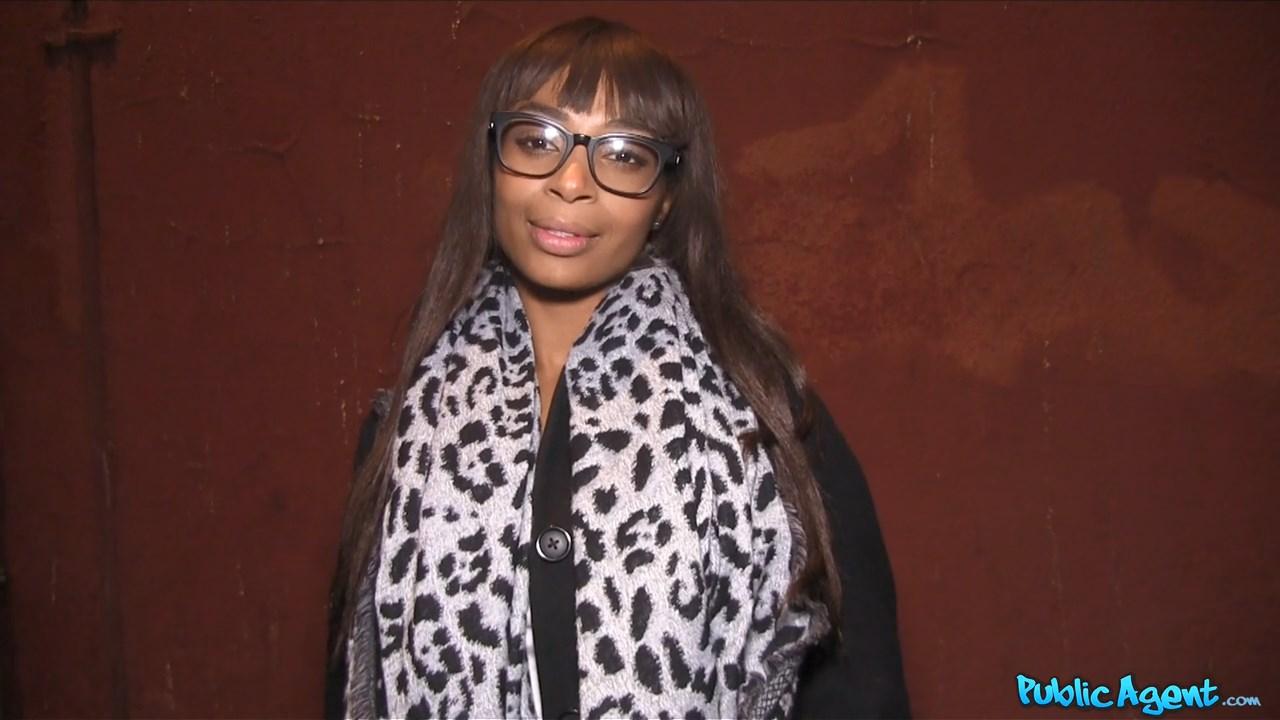 Ebony Business Women Strikes a D