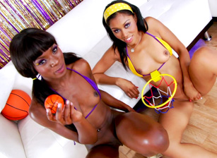 Ana Foxx, Yasmine And Sean