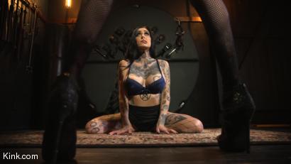 Wet For Mistress: Newcomer Janey