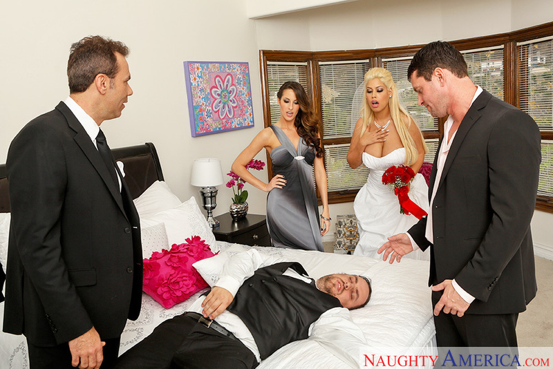 Naughty Weddings - Bridgette B.
