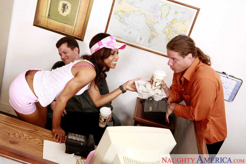 Naughty Office - Marie Luv & Ale