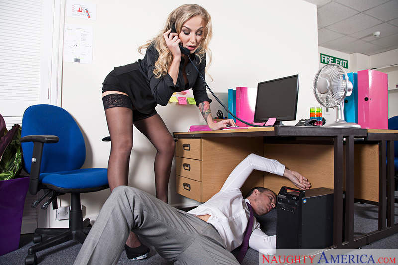 Naughty Office - Kayla Green & R